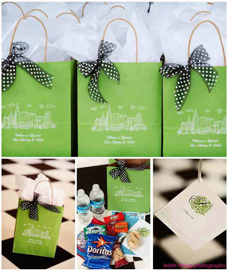Pics Photos - Welcome Gift Bags For Destination Wedding