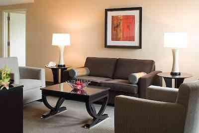 Hilton Suite living room