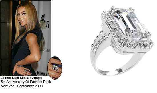 how much beyonce wedding ring cost - How Much Do Wedding Rings Cost