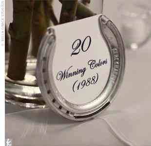 Fun Find: Horseshoe Table Numbers