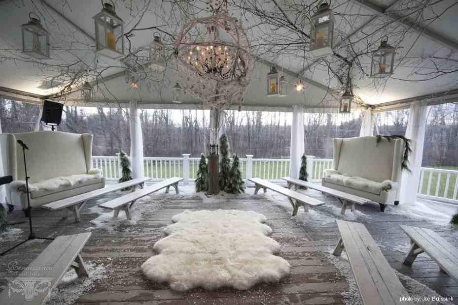 Real Wedding Spotlight: Winter Wonderland!