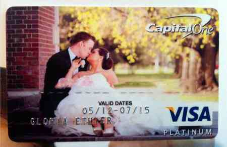 Fun Find: Your Wedding Photo on Your Credit Card