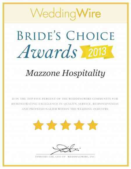 Wedding Wire: Bride's Choice Awards