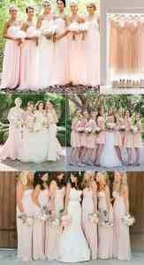 Blush Bridesmaids Dresses (tulleandchantilly.com)