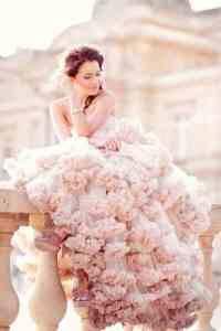 Blush Wedding Gown (bespoke-bride.com)
