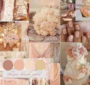 Rose, Blush, Gold