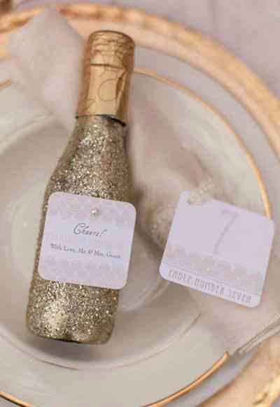 Glitter Champagne on NYE!