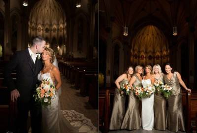 Wedding Spotlight: Faith & John at Canfield Casino