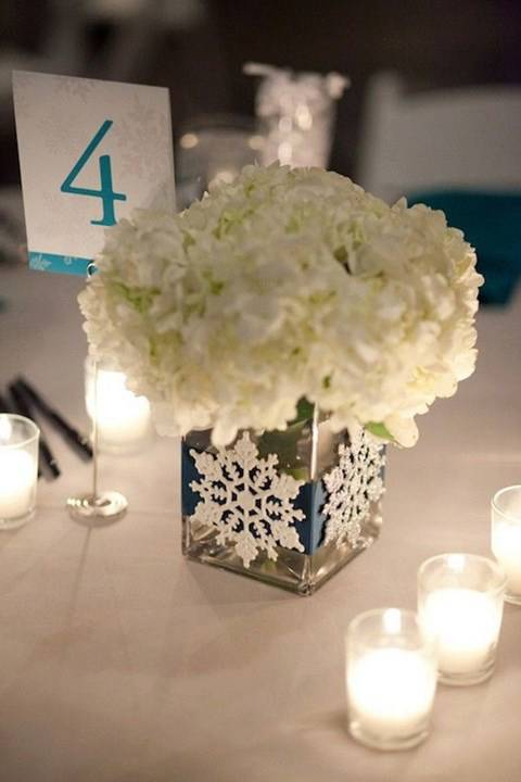 With These Centerpieces The Usual Suspects Are Still Shown On Tables But A Little Creative Licensing Has Taken Place