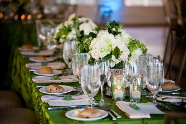 Wedding Inspiration: Shades of Green