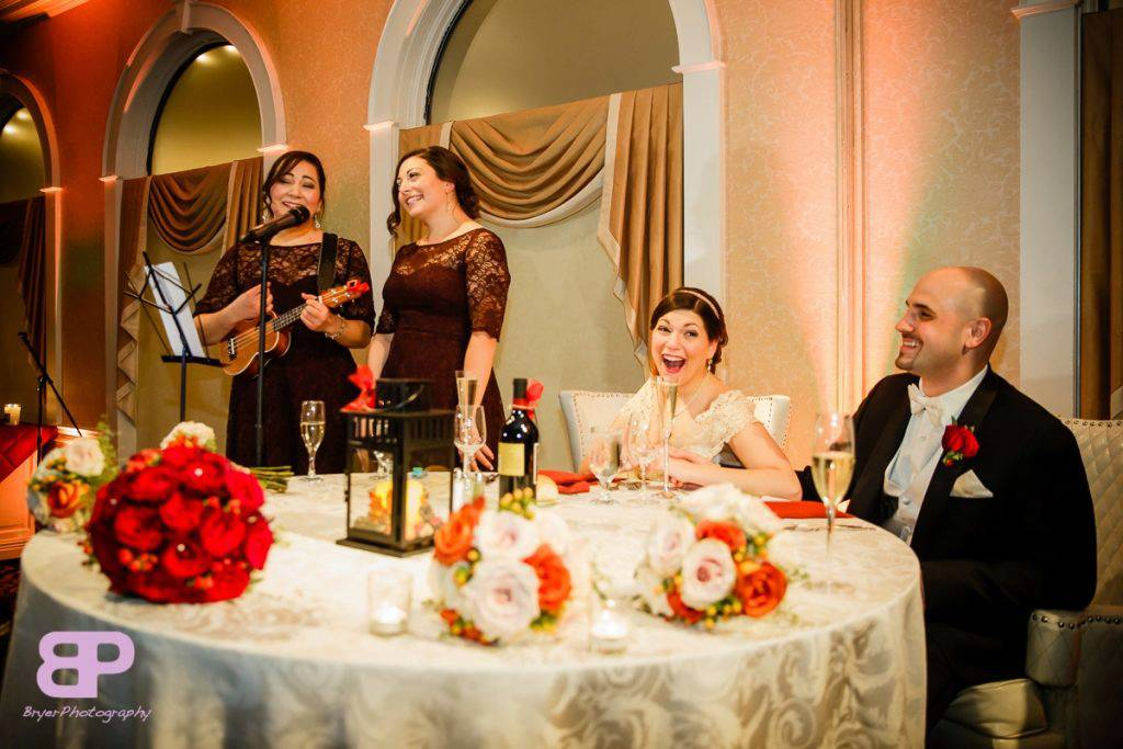 Here's a toast… (to an amazing wedding toast!)