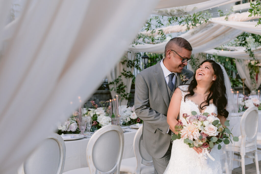 Vow Magazine Real Wedding:  Faith & Kevin